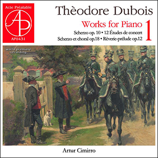 Théodore Dubois - Works for piano 1 - A. Cimirro